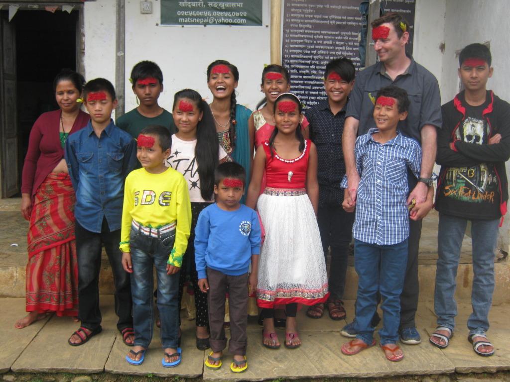 Kids Celebrated Dashain festival