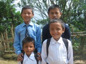 Sundar , Raj Kumar,Nabin and Pujan