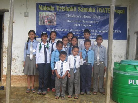 Kids at Child Welfare Home Khandbari