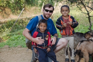 Michael Fingleton (Ireland) a trekker throuhg MAST