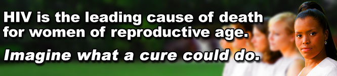 Help find a cure for HIV/AIDS