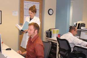 ARA staff in the clinic