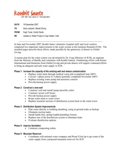 Project Status (PDF)