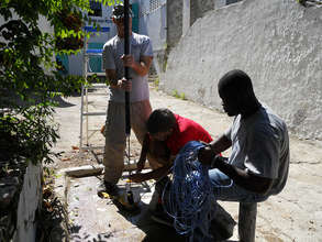 Supplying Critical Water for Haitian Hospital