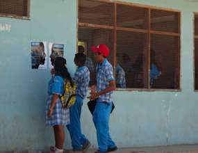 Students in Dili receive protection information