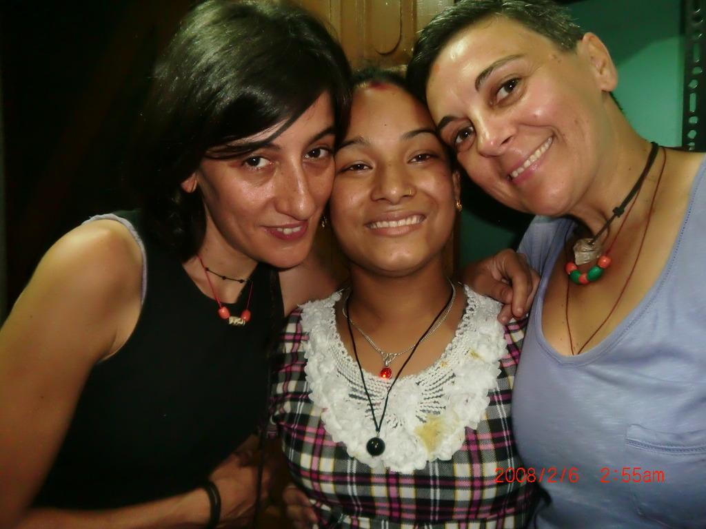 International Volunteer with the Girls