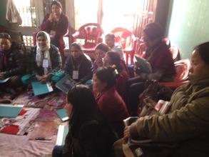 during the Peer Educatin Training