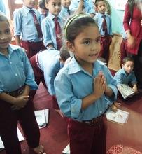 Children at Raksha Nepal