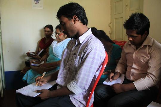 An Anudip classroom