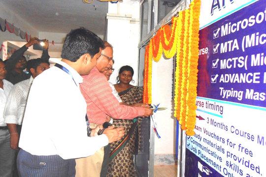 Anudip Academy's inauguration