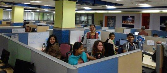 The new Anudip/iMerit office