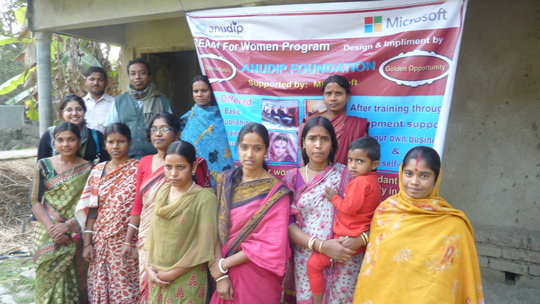 Women's tailoring co-op in south Bengal