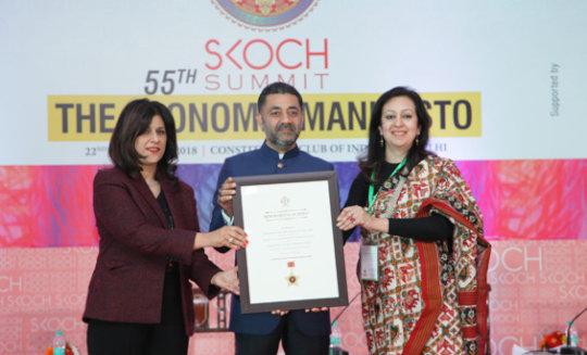 Anudip Executive Director, Monisha receives award