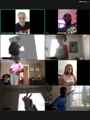 Dream Academy Virtual Class with Instructor Kelly