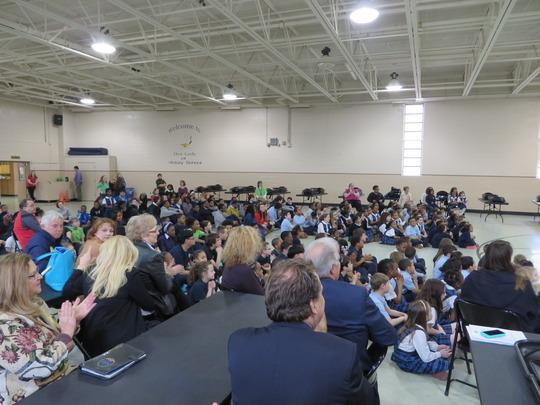 Kids in Baltimore watch YDP Performance