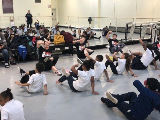 Philadelphia YDP Field Trip, Rock School of Dance