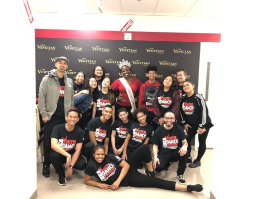 Culture Shock LV performers at the Youth Summit