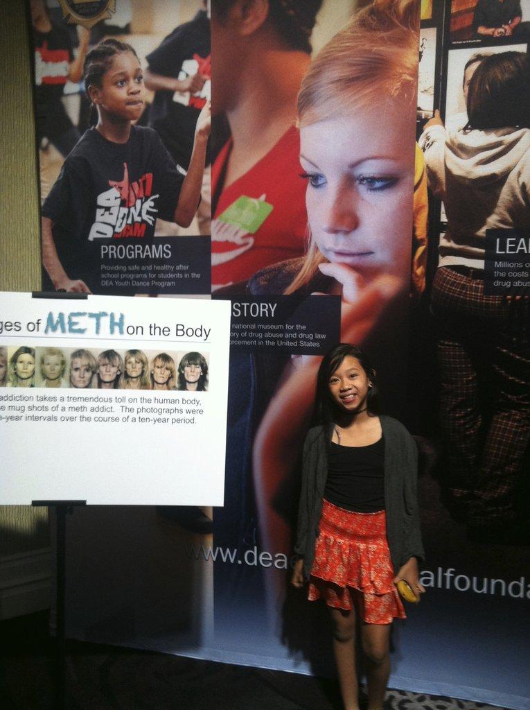 Khloe, DEA YDP Student and Scholar