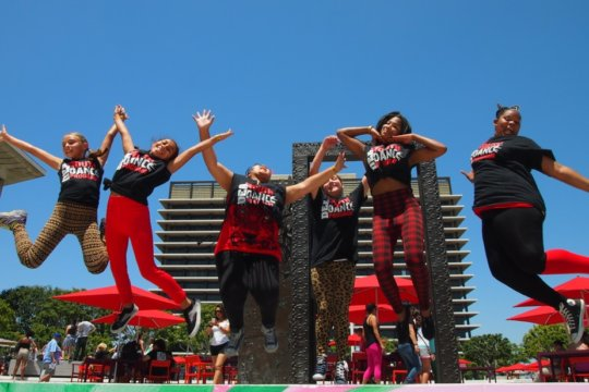 DEA YDP Students Perform at National Dance Day