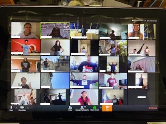 Virtual Dance class in LA with Instructor Jon