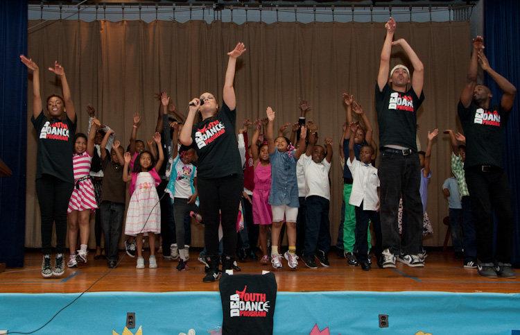 DEA YDP Kids Dancing on Stage