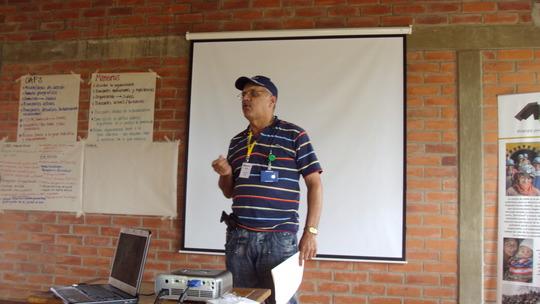 Small scale mining representative from Segovia