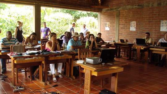 Participants of the fairtrade workshop
