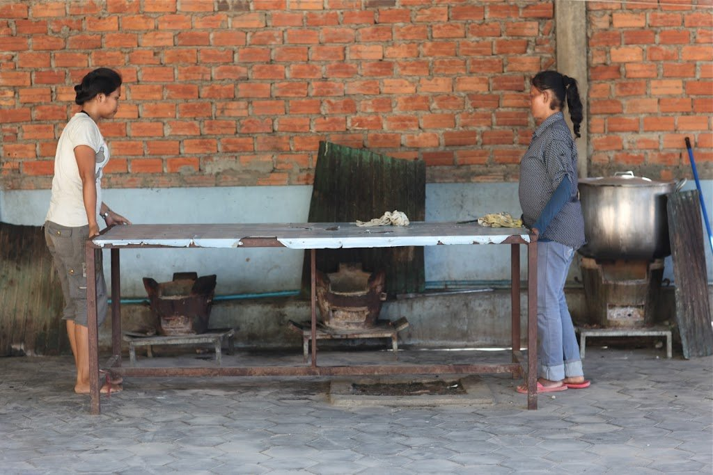 Build a Kitchen in Cambodia that Feeds 800 Daily