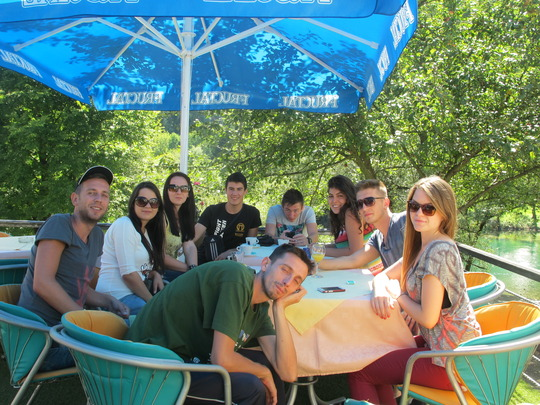 at the end of peace camp 2014