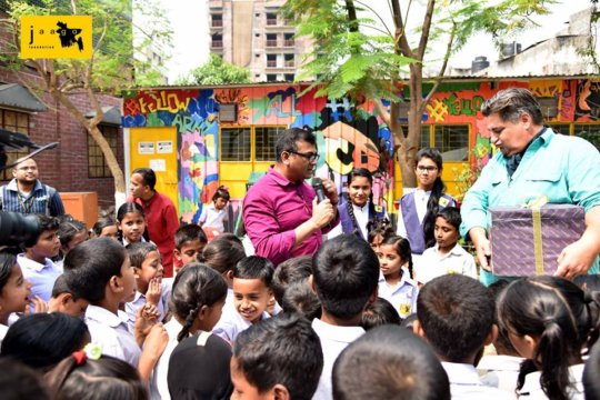 MasterChef with His Magic Box for the JAAGO Kids