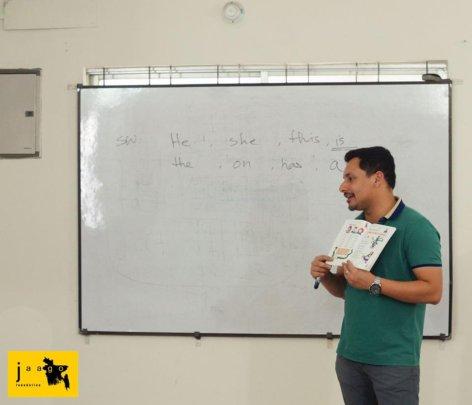 Training the JAAGO Facilitators