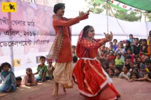 JAAGO Students performing at Service Fair 2016