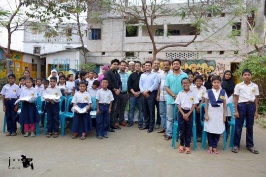 Bringing Smiles to 2200 JAAGO Children