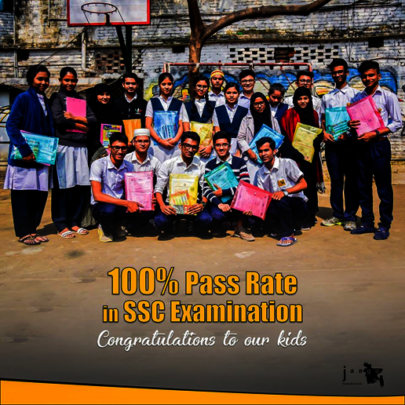 Our 1st Batch Students Who Passed SSC This Year!