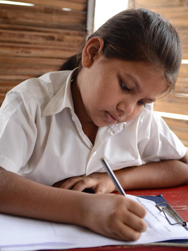 Exam Time! Uzma, Class 1