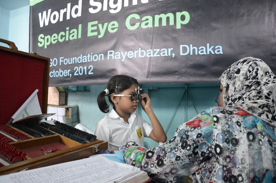 Eye-Checkup for JAAGO kids