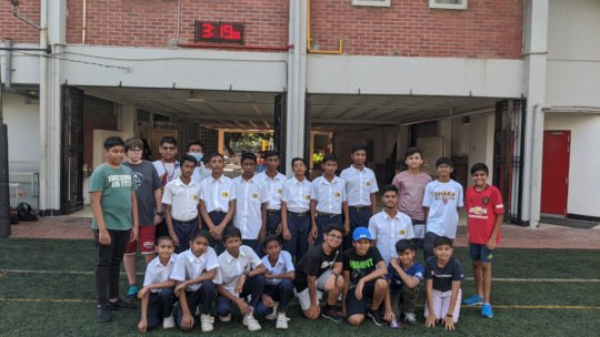 Friendly Football Match (JAAGO Vs AISD)
