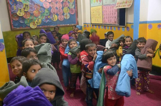 JAAGO Winter Clothes Drive