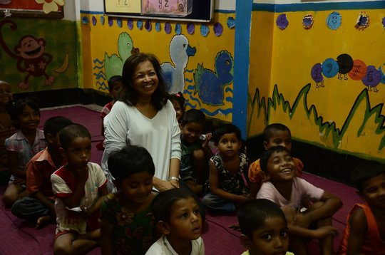 Marina Mahathir at the JAAGO Foundation!