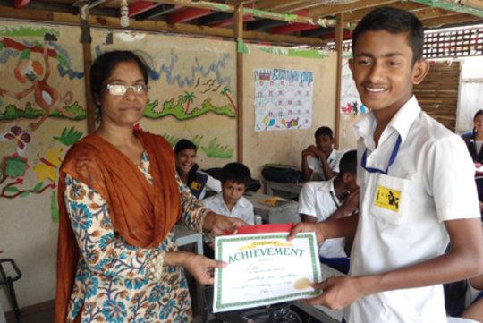 JAAGO Spelling Bee 2012 Class 2 Winner: Lelin