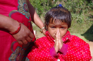 Little Girl - Nepal