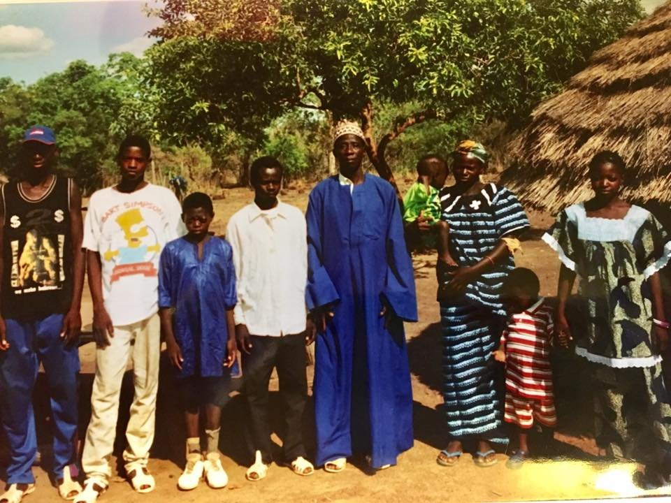 Mboule & family (photo courtesy Heather Labbe)