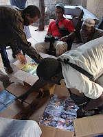 School supplies at Djendji