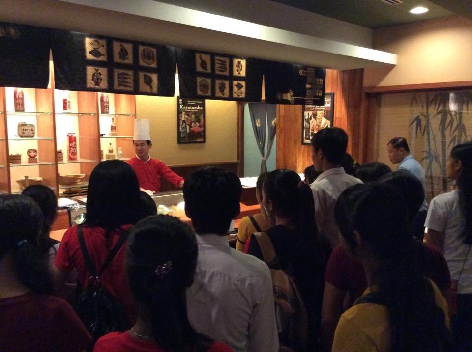 Visit  at Sokha Hotel