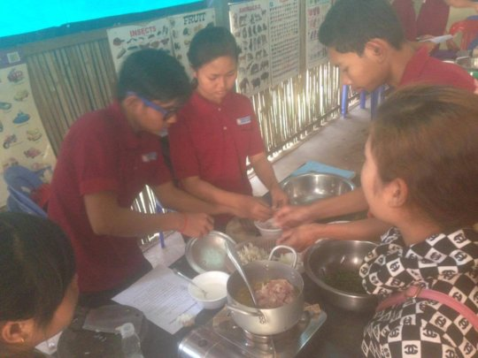 Cooking class-Cooking Act