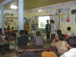 Life Skill Students present to next generation