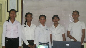 Life Skill students during presentation in a class