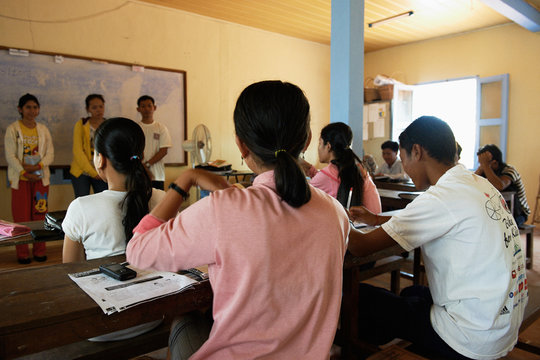 Support Sexual Education for Young Cambodians