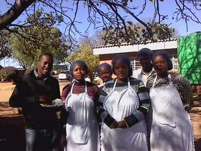 Dalumuzi with 2012/3 LUT project beneficiaries