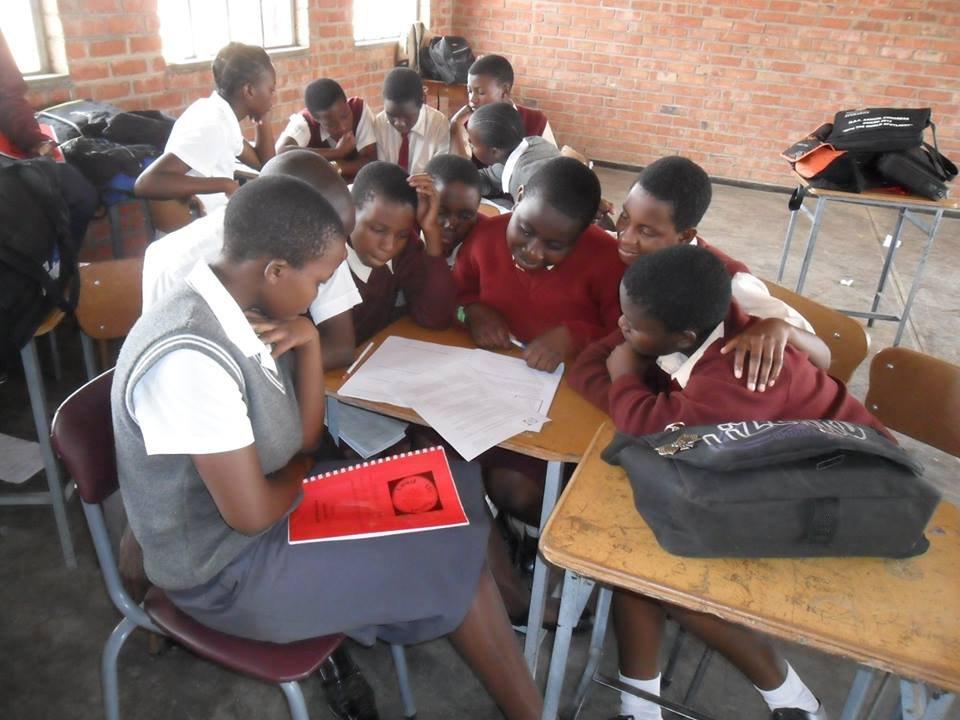 Maranatha LUT club discussing social innovation